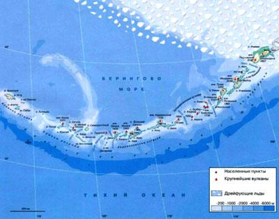 Алеутские острова — Википедия