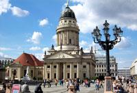 Города Берлин, столица Германии, Европа.