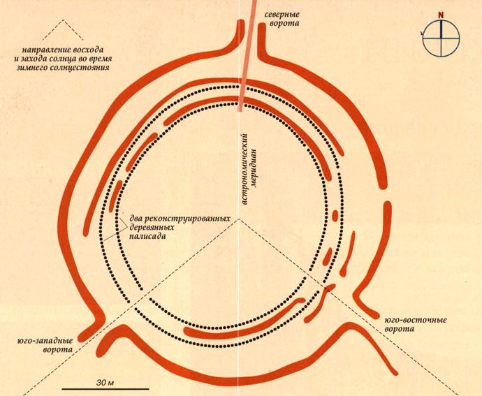 Гозекский круг на карте