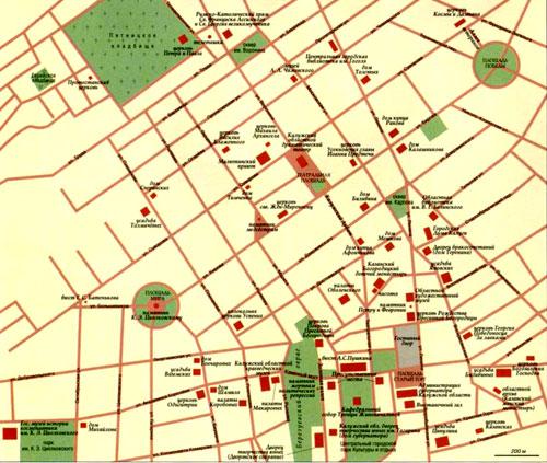 Kaluga map