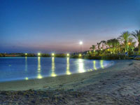 Вечерний пляж Кипра