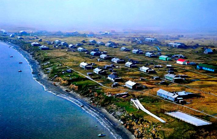 Остров Новая Земля Поселок Белушья