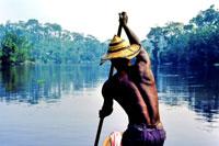 Река Конго - вторая по длине река Африки.