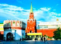Московский Кремль (Кутафья и Троицкая башни)