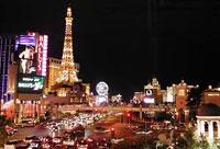 Города Лас-Вегас, штат Невада, США, Северная Америка.