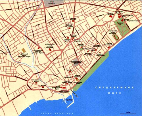 Map Limassol