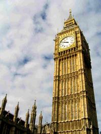 Биг-Бен - Башня Святого Стефана, Лондон, Великобритания.