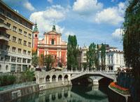 Город Любляна, столица и крупнейший город Республики Словении.