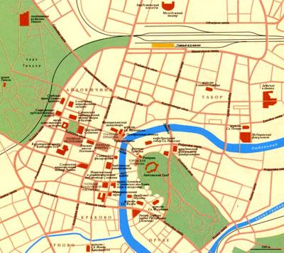 Город Любляна на топографической карте, Словения, Европа.