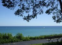 Озеро Мичиган, США, Северная Америка.