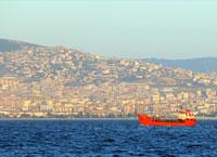 Мраморное море, внутреннее море Турции.