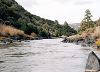 Река Рио-Гранде, Северная Америка.