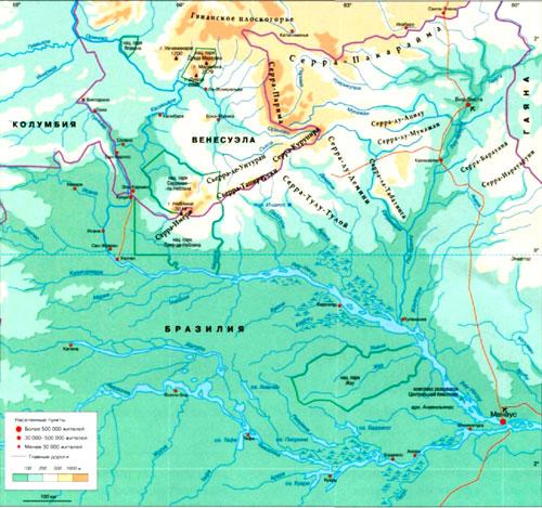 Риу-Негру на карте