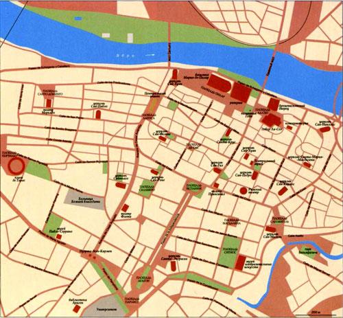 Map Zaragoza