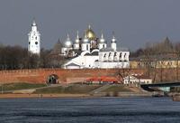 Город Великий Новгород, административный центр, Россия.