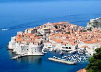 Хорватия - старый город Дубровник.