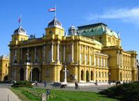 Загреб, cтолица Хорватии.