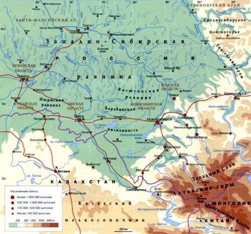 Куда течет река иртыш в омске схема фото 241