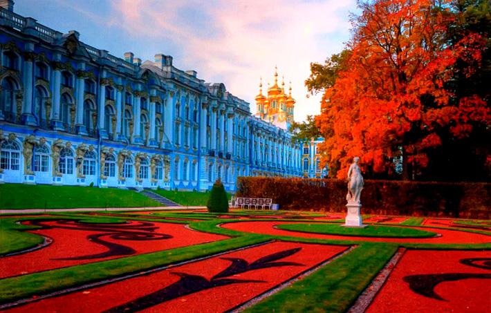 Екатерининский парк, царское село, город пушкин, пригороды петербурга